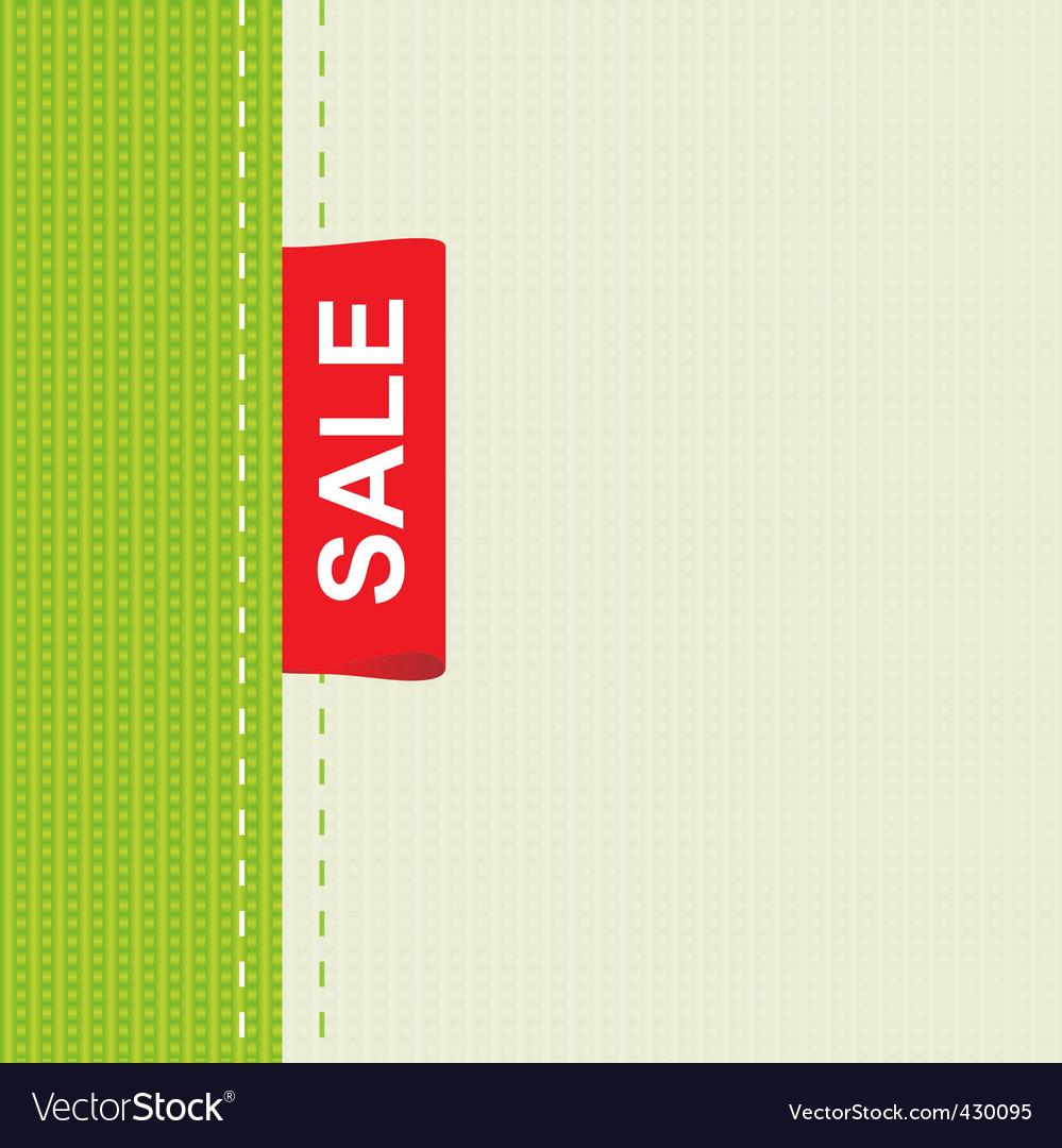 Cloth sale vector