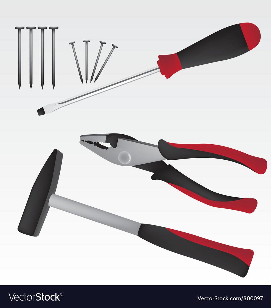 Work tool vector