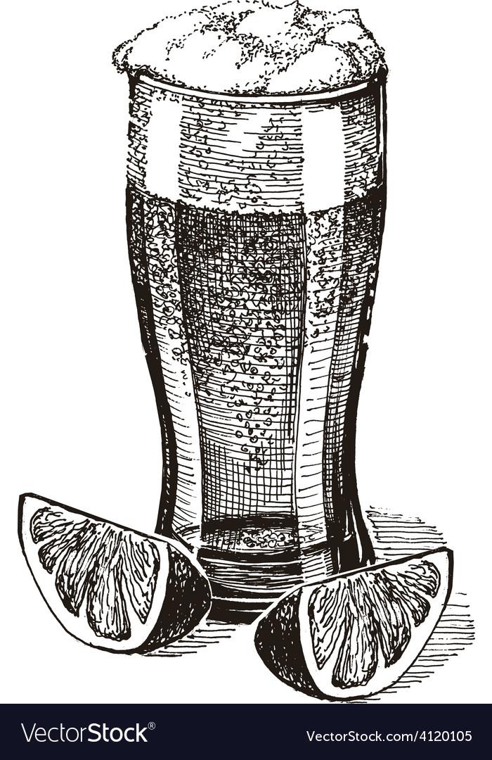 Beer logo design template pub or drink vector