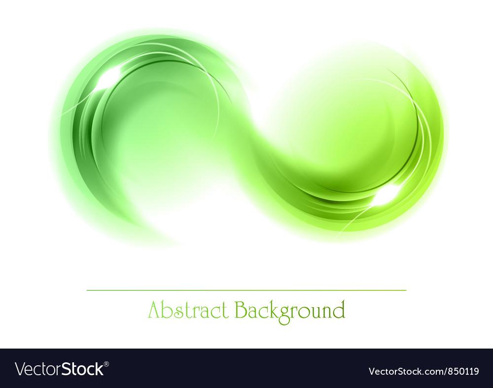 Abstract shape smoke vector