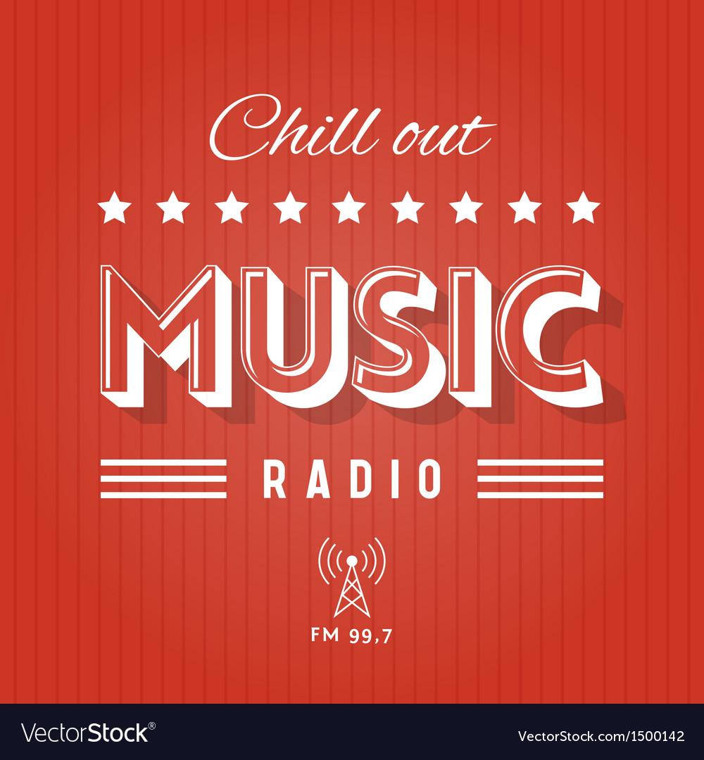 Music radio vs vector