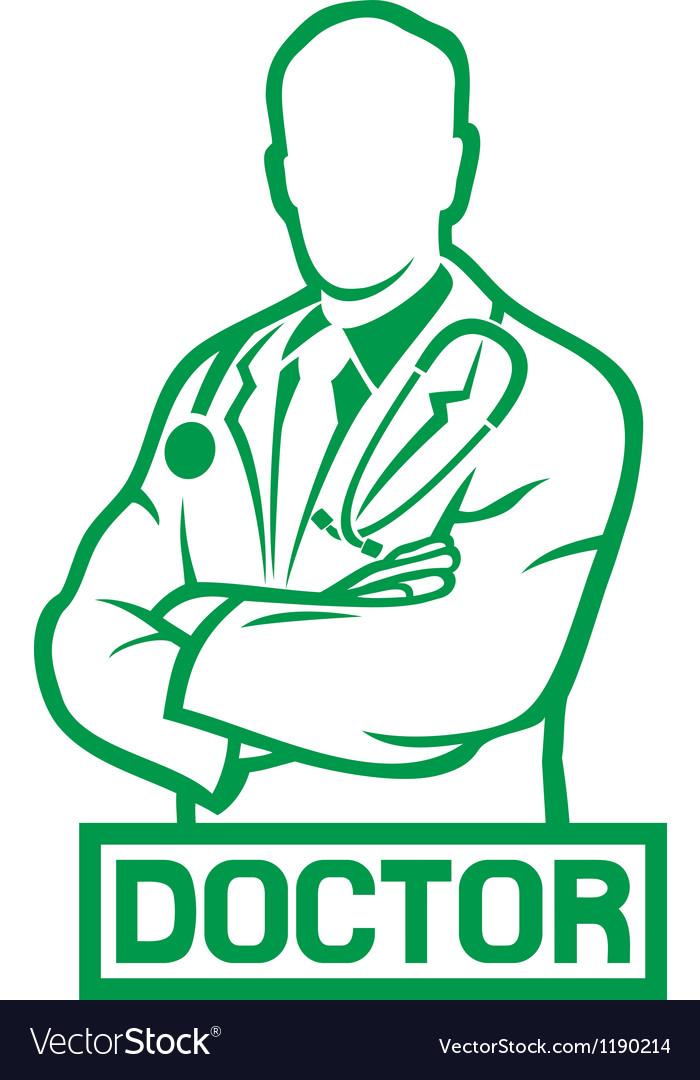 Medical doctor vector