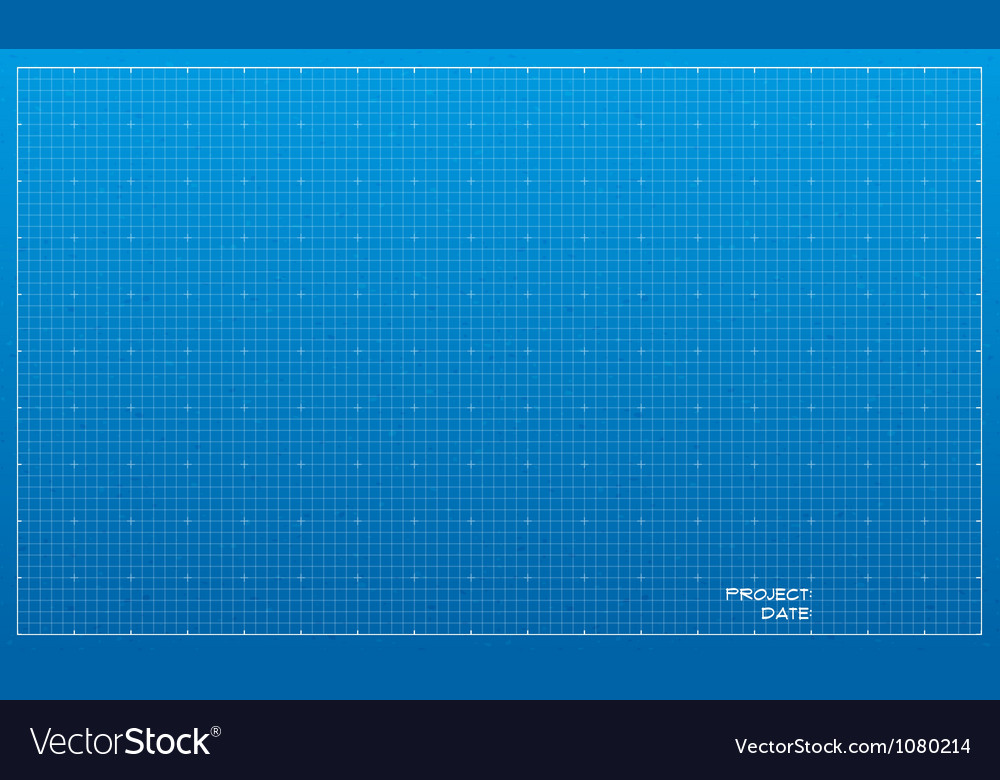 Wide blueprint background texture vector
