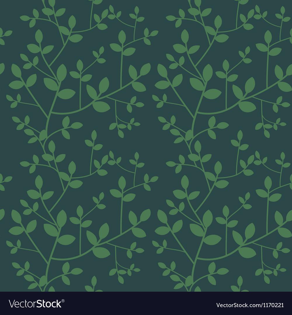 Seamless branches vector