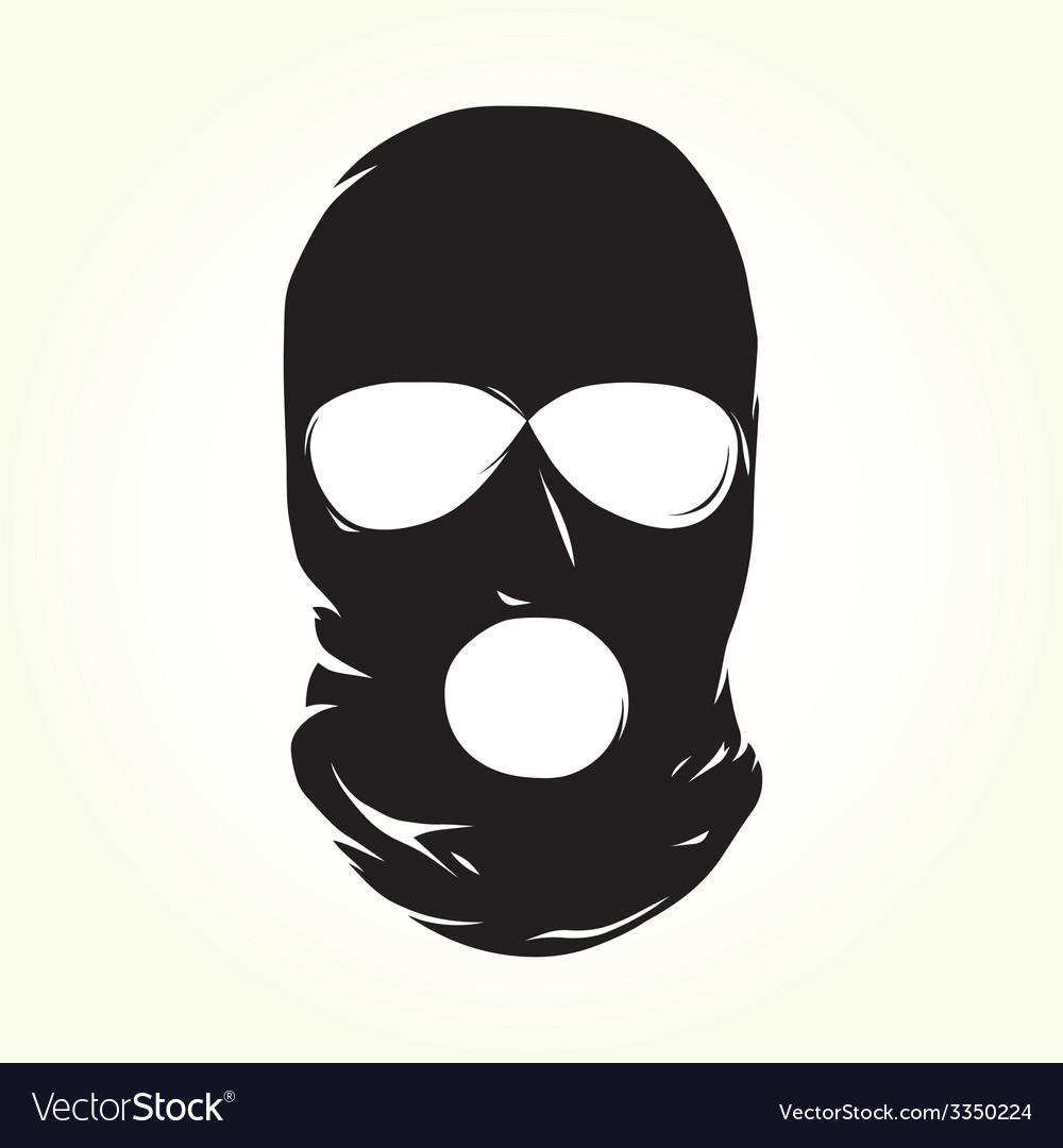 Terrorist mask vector
