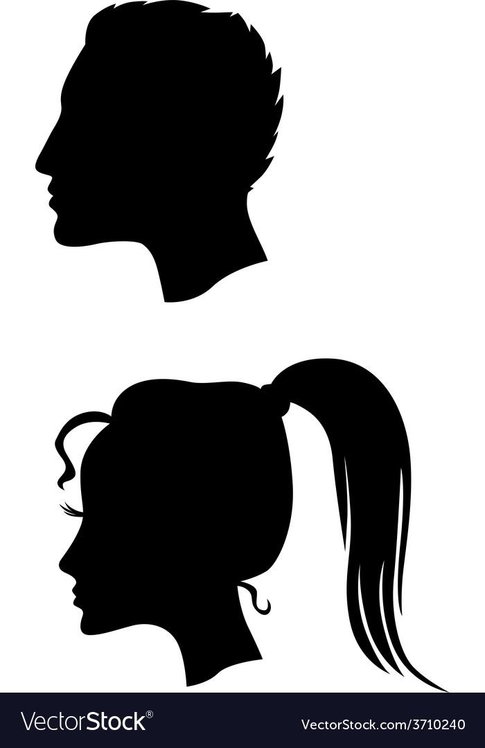 Men women vector