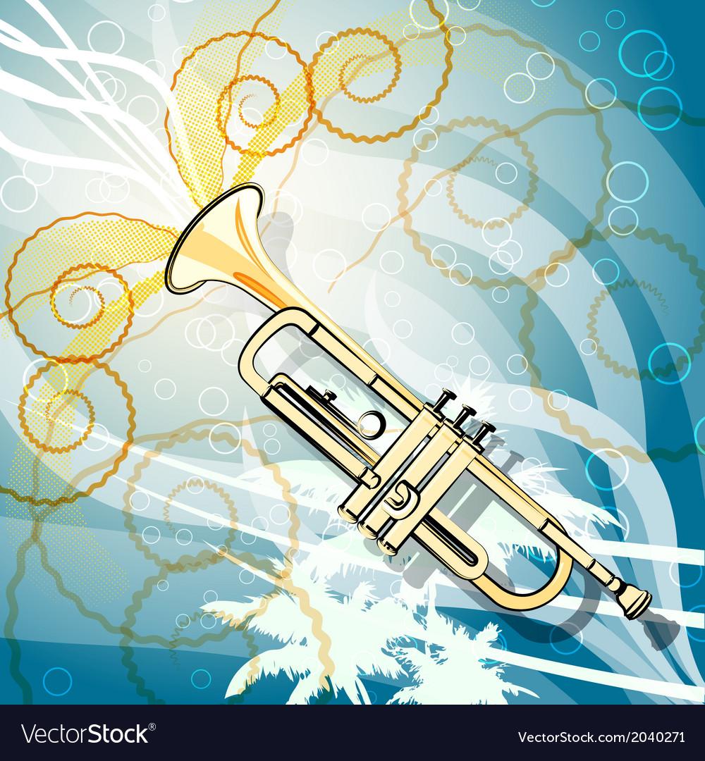 Seaside jazz vector