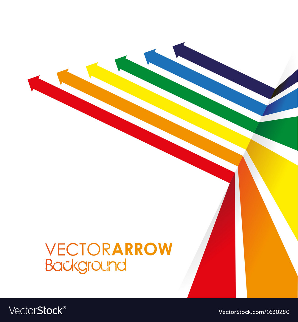 Coloured line strip background vector