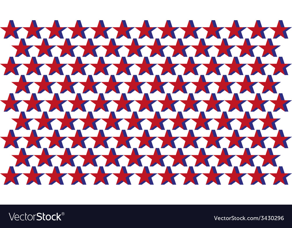 Abstract color stars background vector