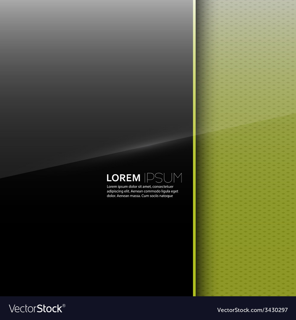Dark glossy blank with a background texture vector
