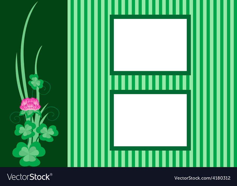 Border for pictures vector