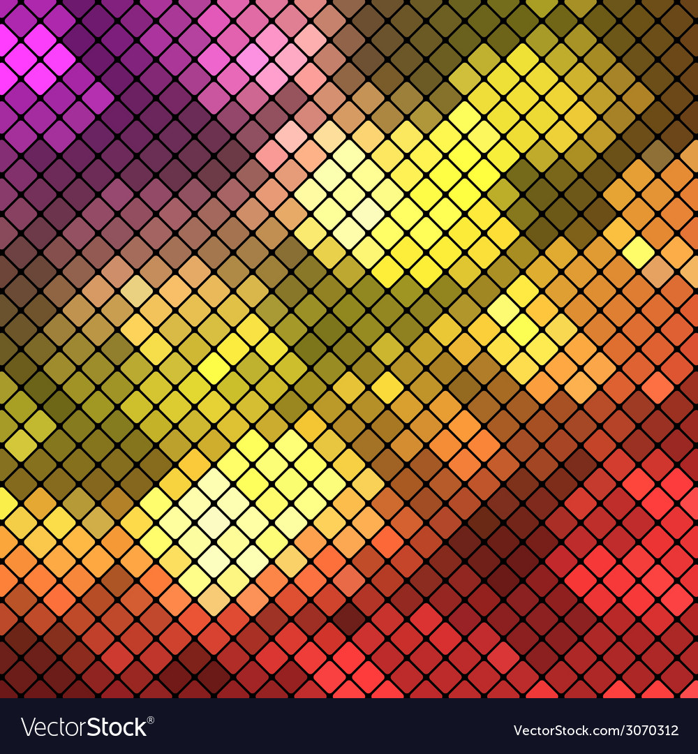 Diagonal colored block background vector
