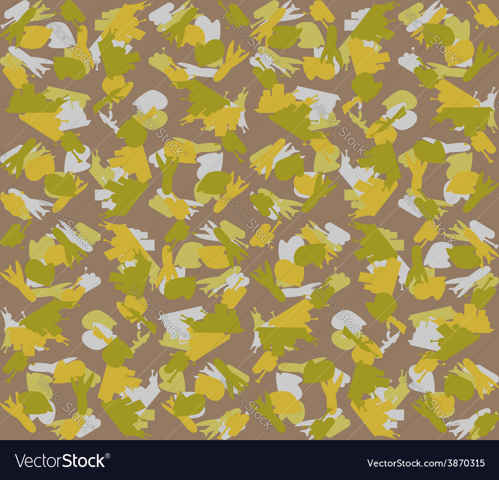 February 23 military background vector