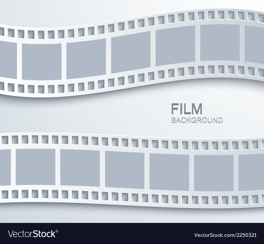 Modern film background vector