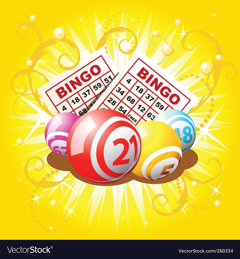 Lottery balls vector