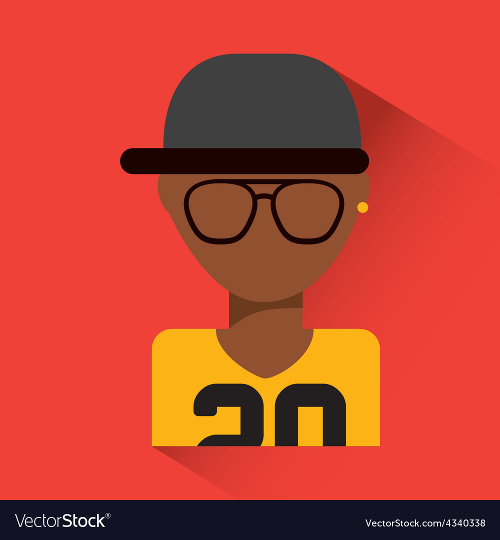Person avatar vector