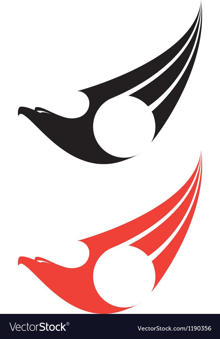 Eagle label vector