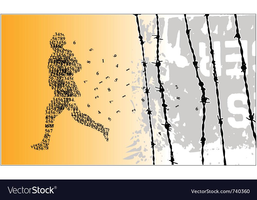 Runner number vector