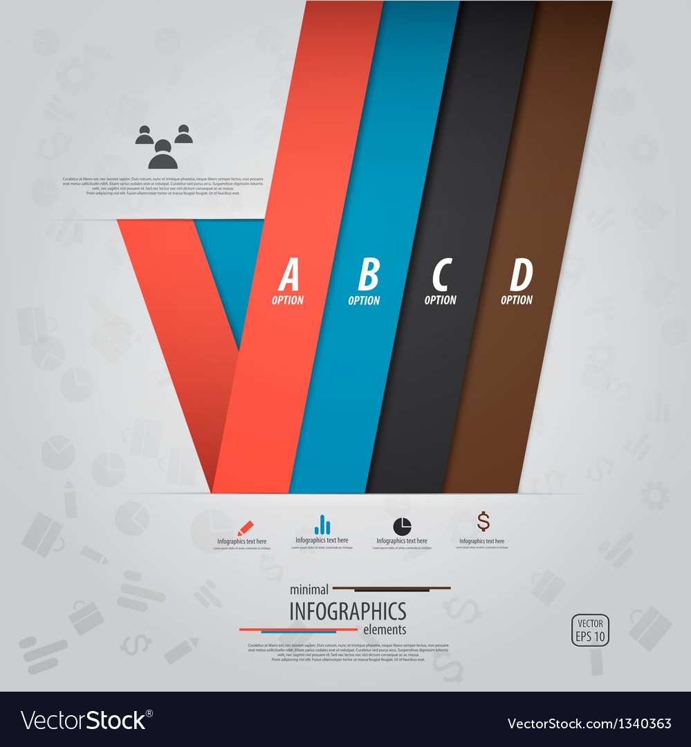 Infographics design 11 vector