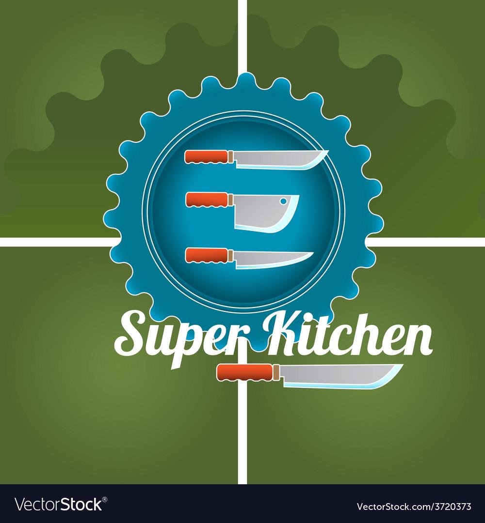 Kitchen logo vector