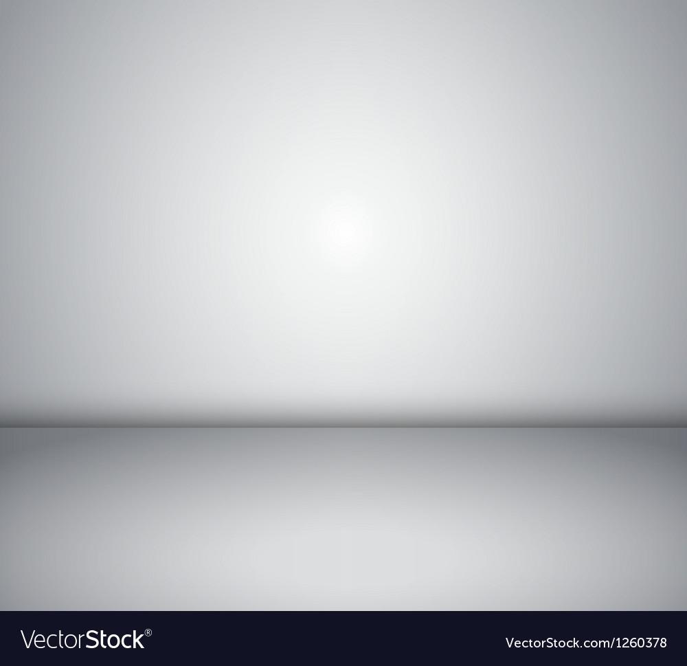 Empty room inside background vector