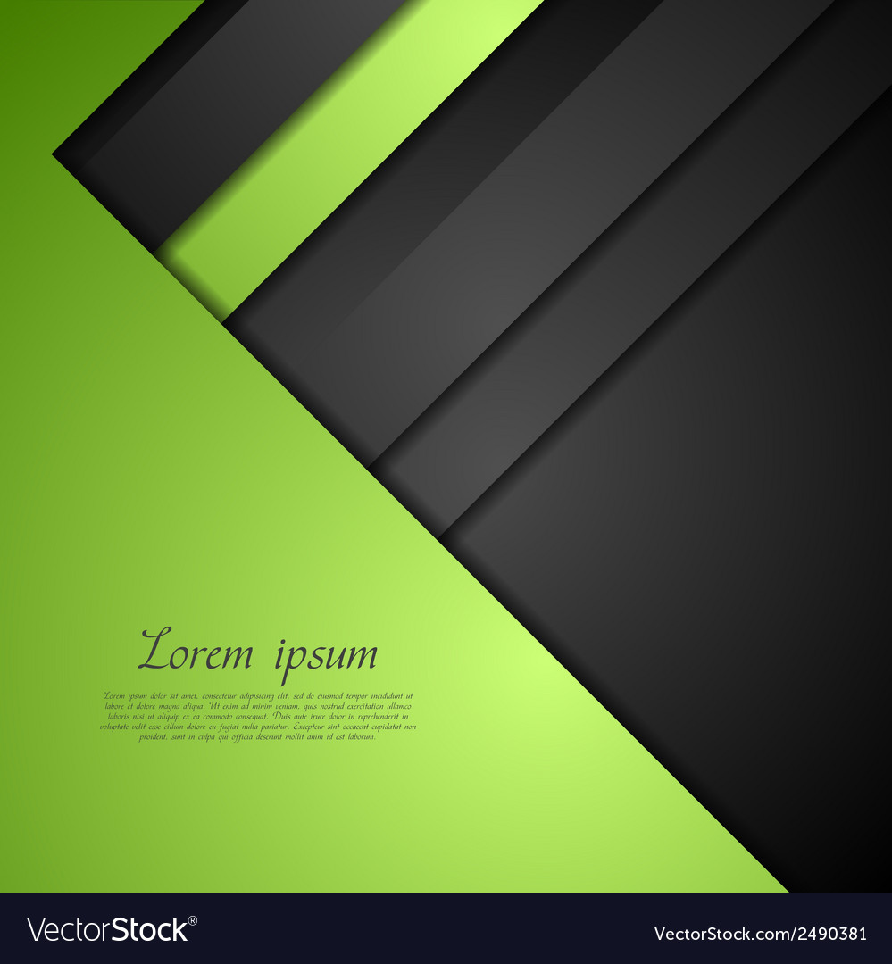 Abstract bright corporate design vector