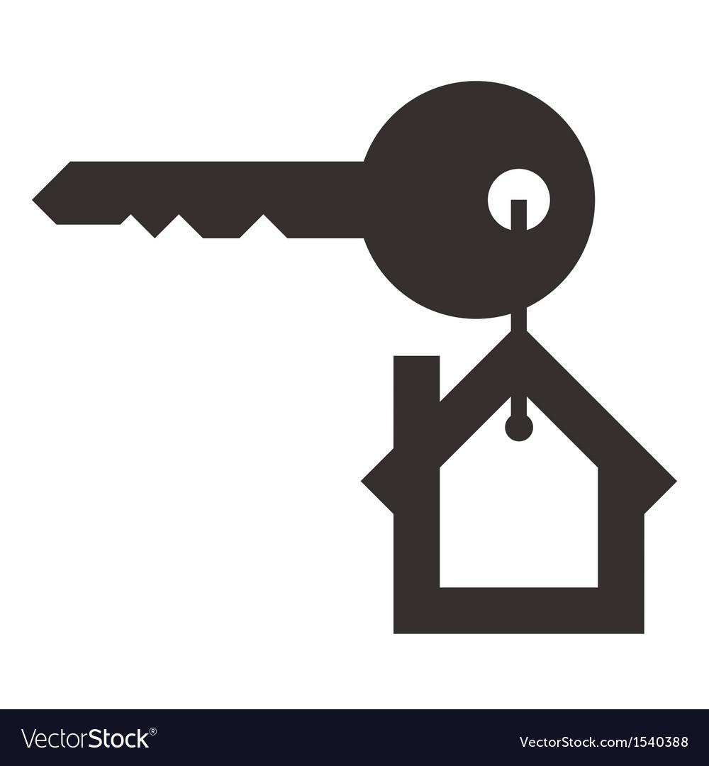 House key vector