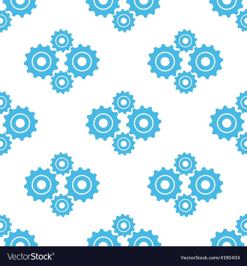 Mechanism seamless pattern vector
