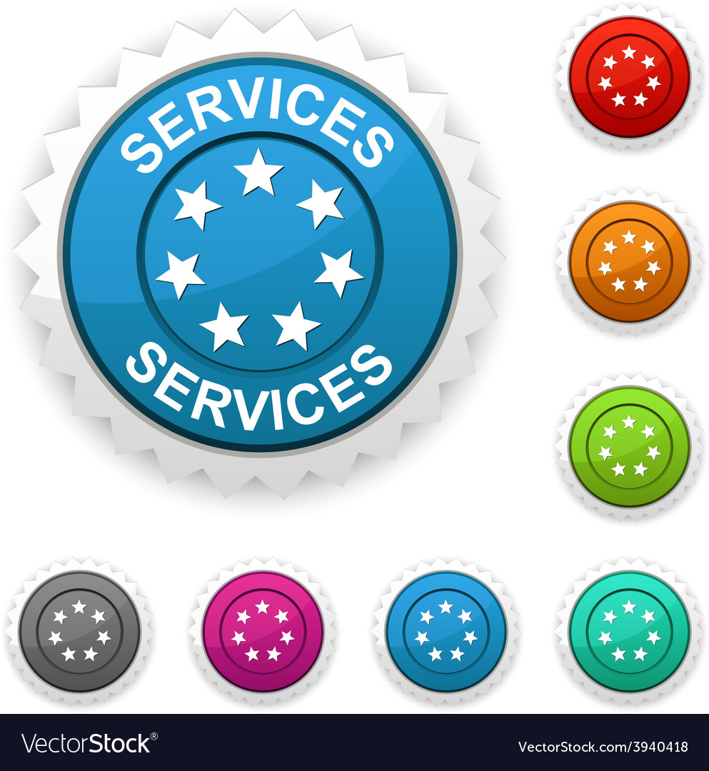 Services award vector