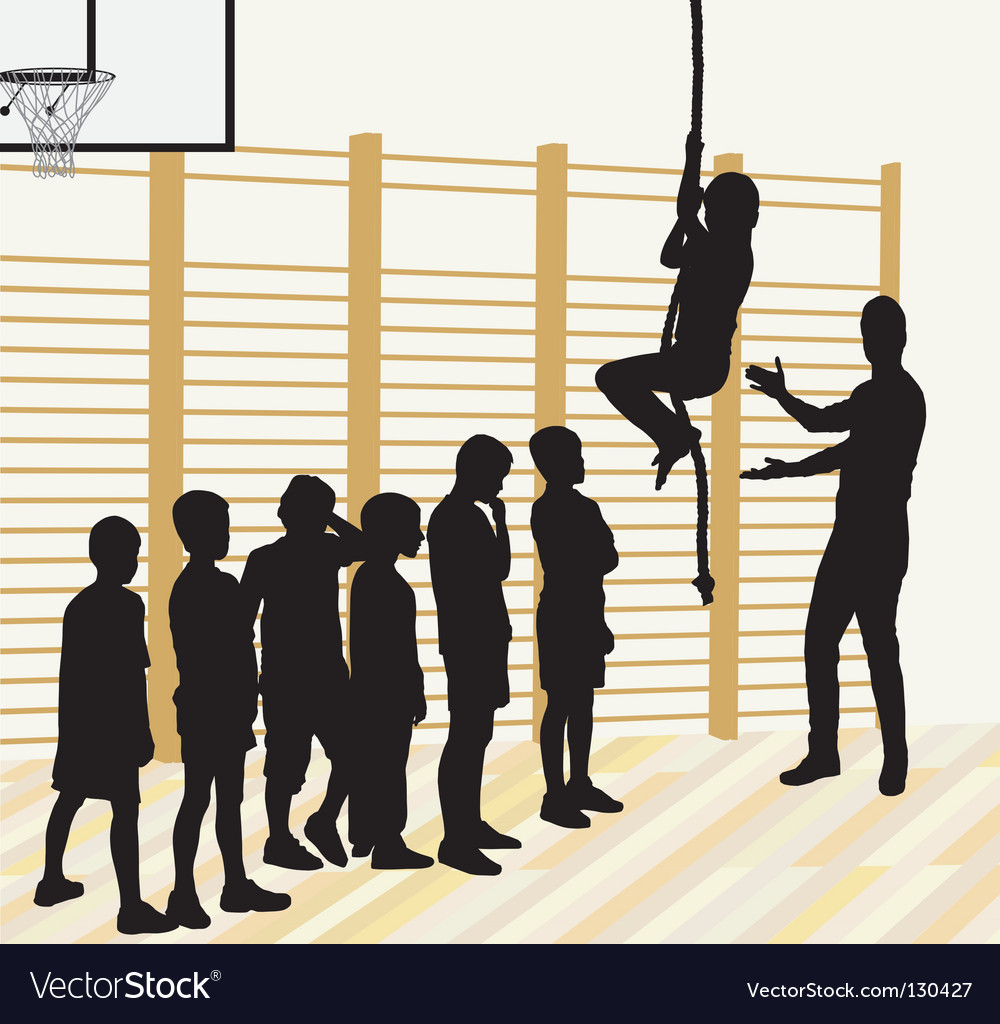 Physical education vector