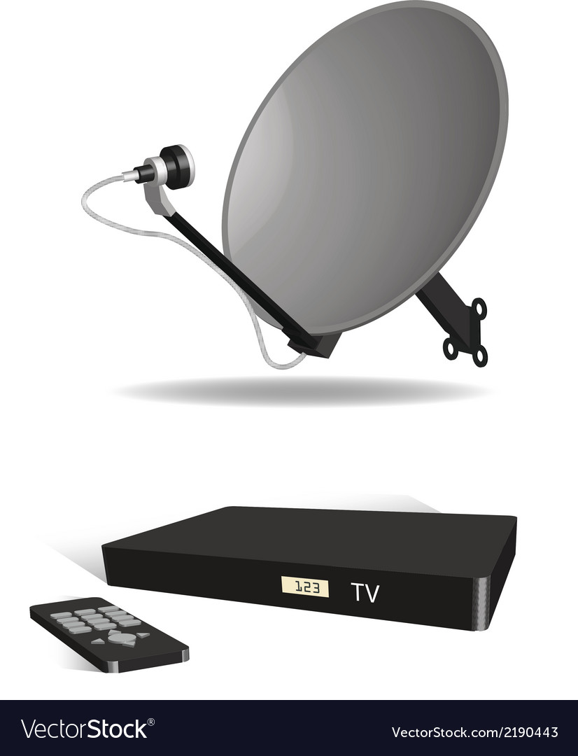 Cable tv vector