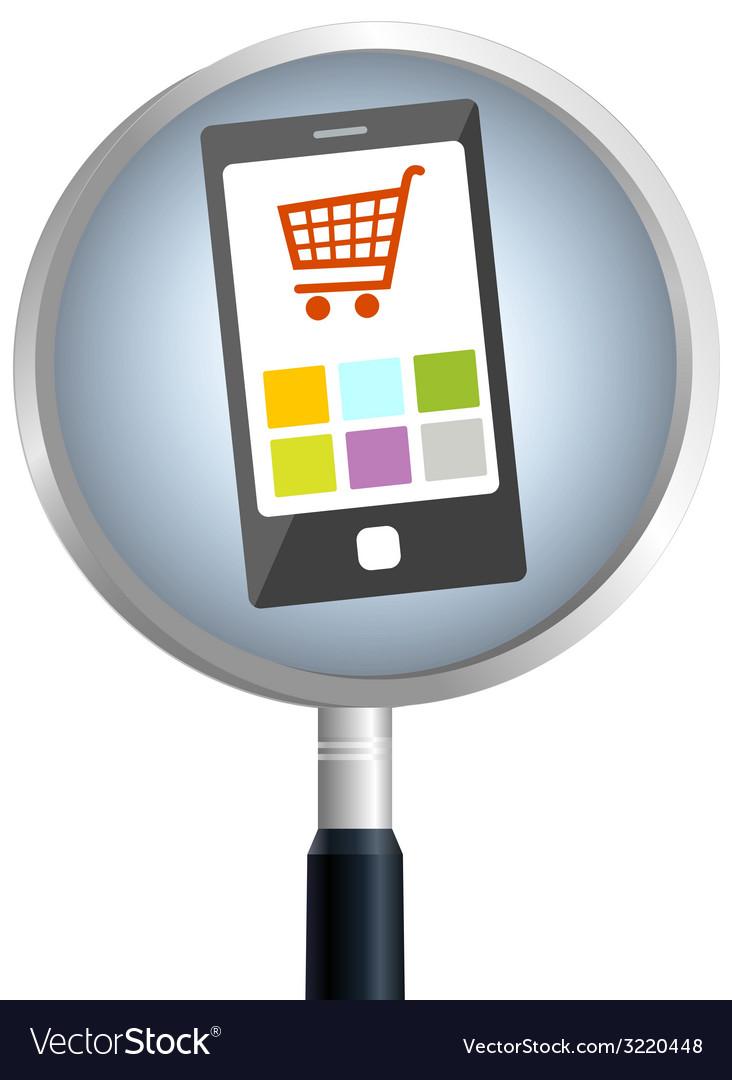 Smartphonesearch vector