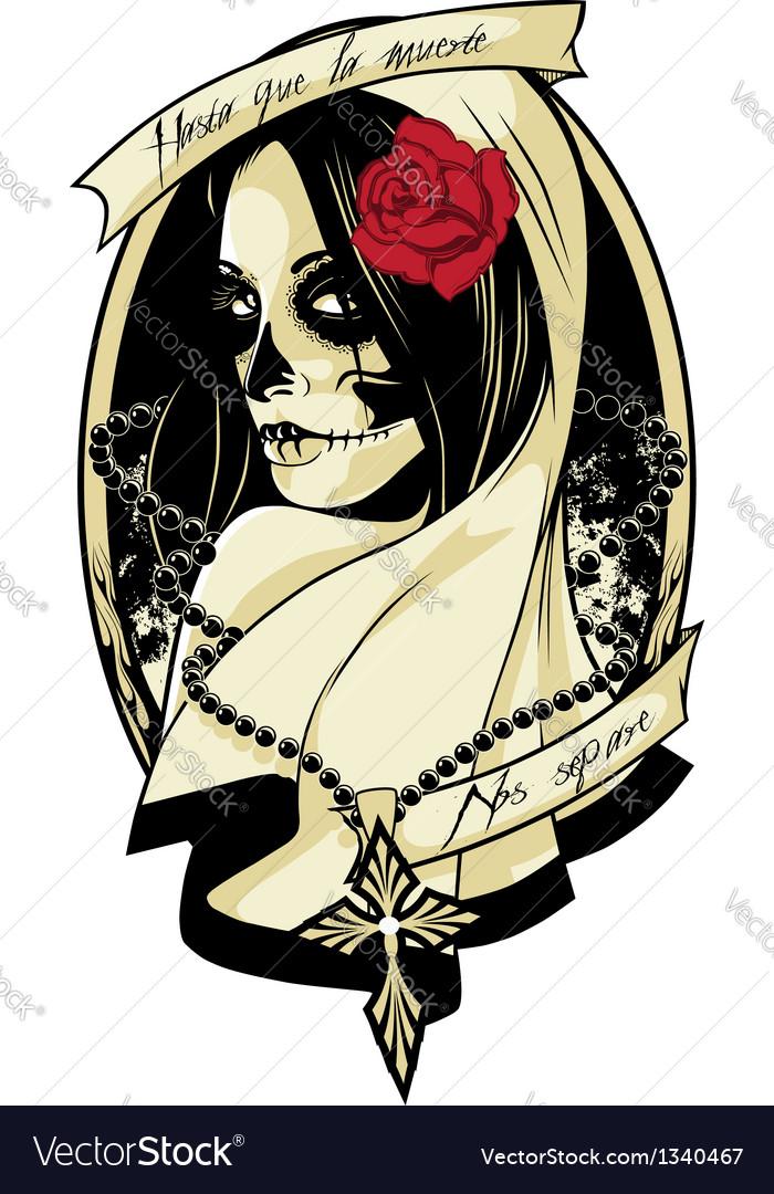 Lady death vector