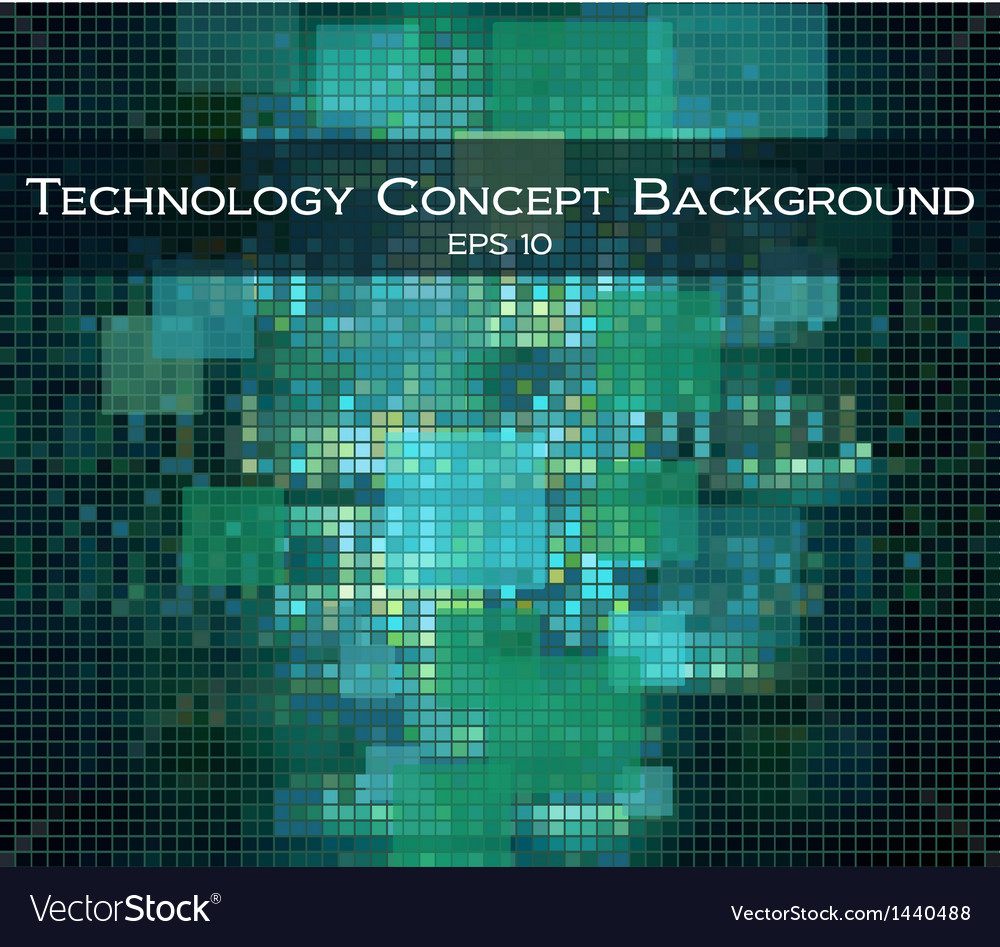 Technology and hi-teck background vector