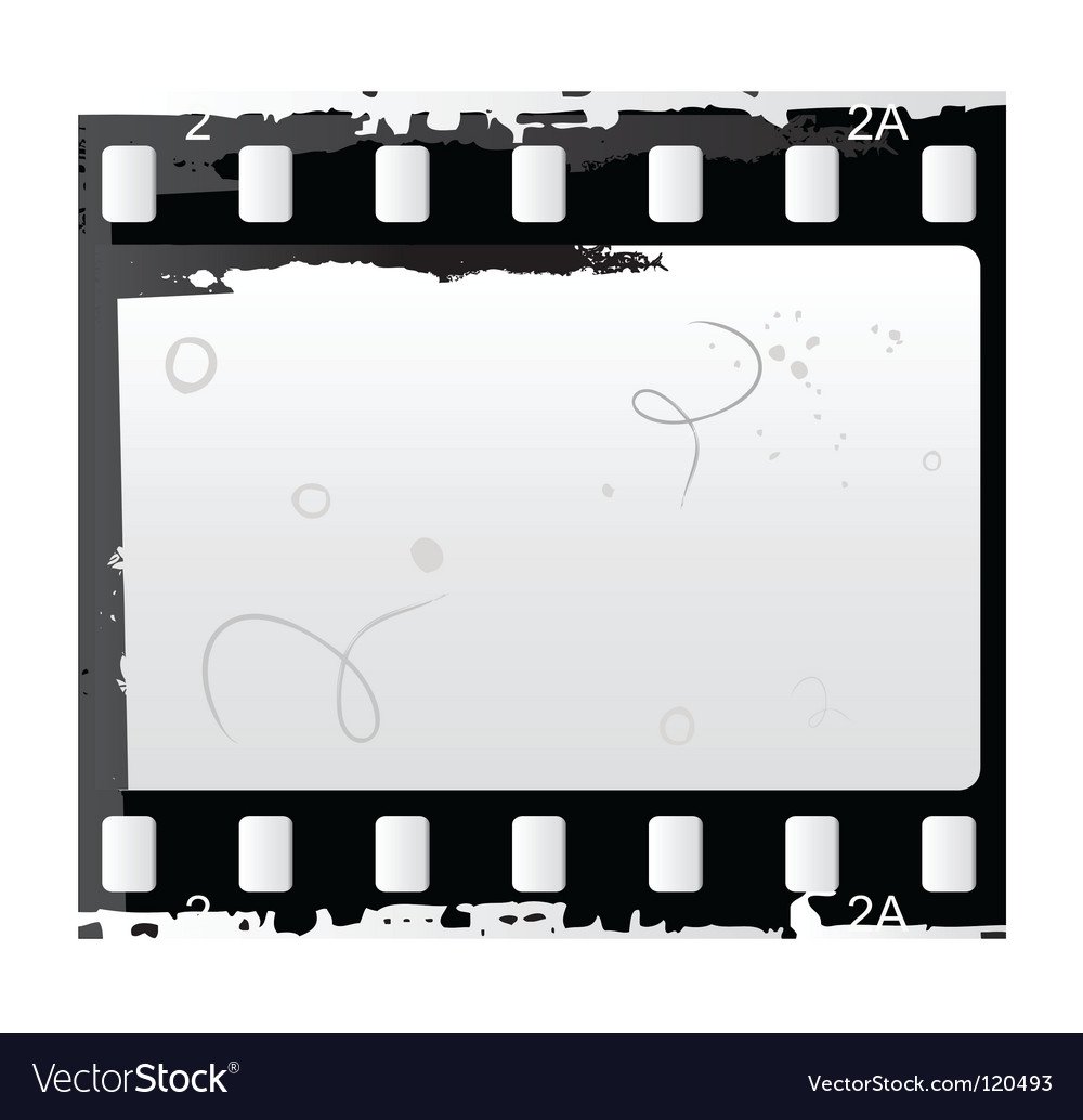 Photo and video film vector