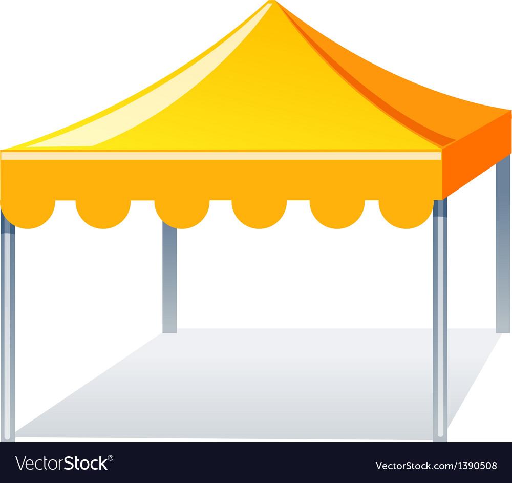 Icon event tent vector