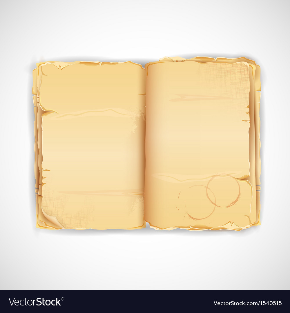 Antique book vector