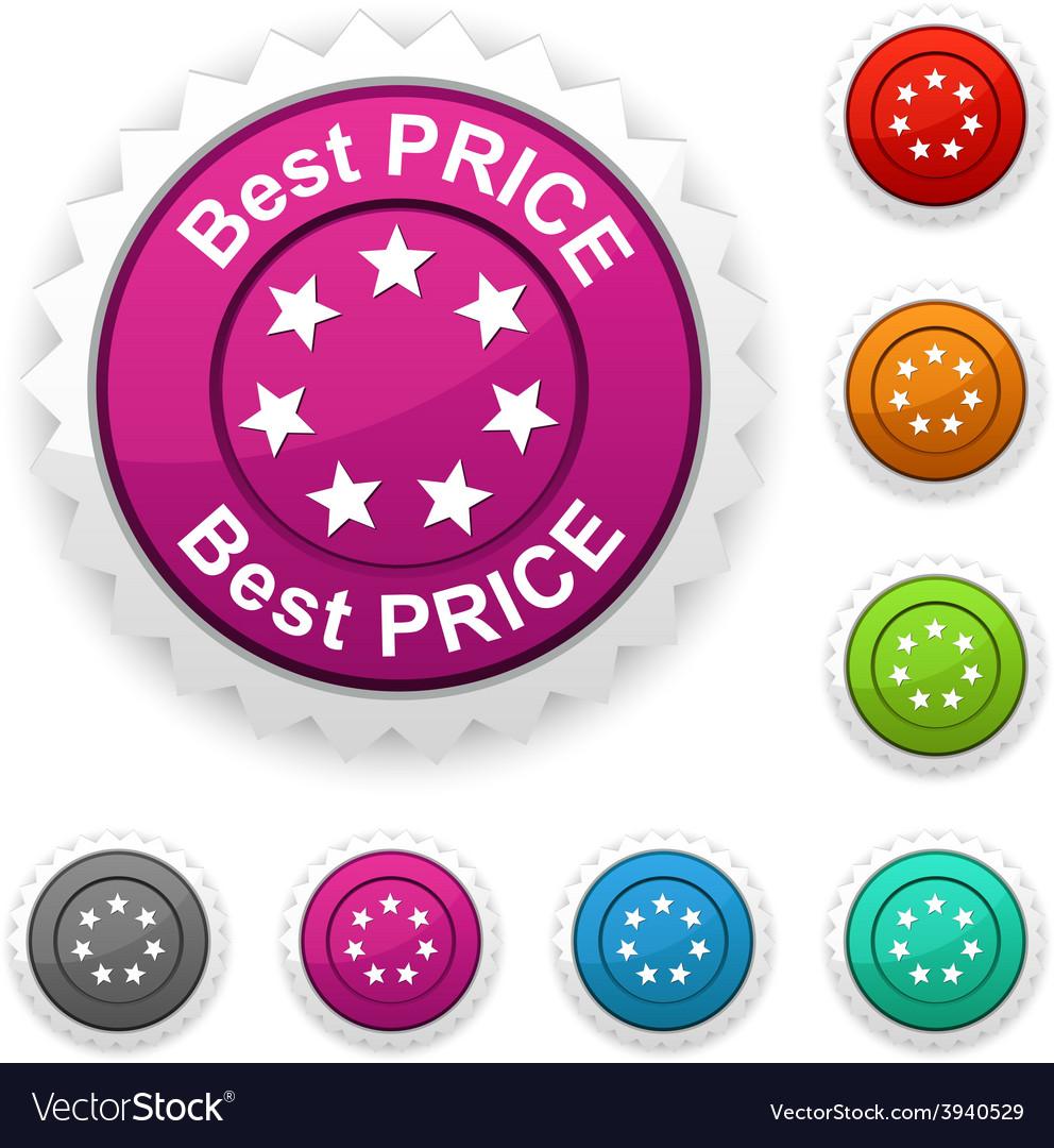 Best price award vector