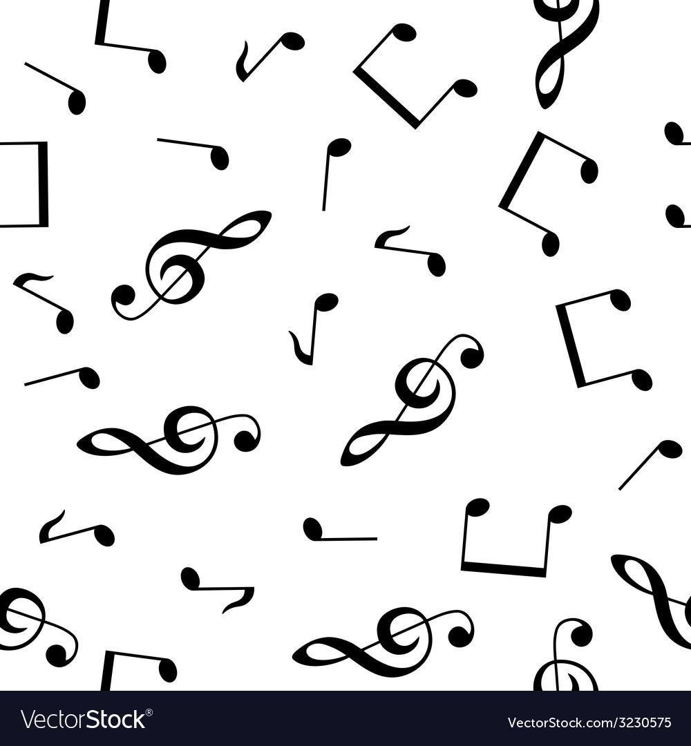 Musical seamless wallpaper vector