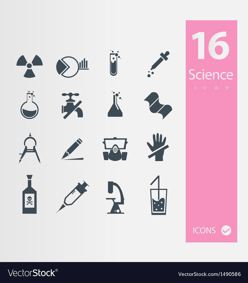 Science set vector