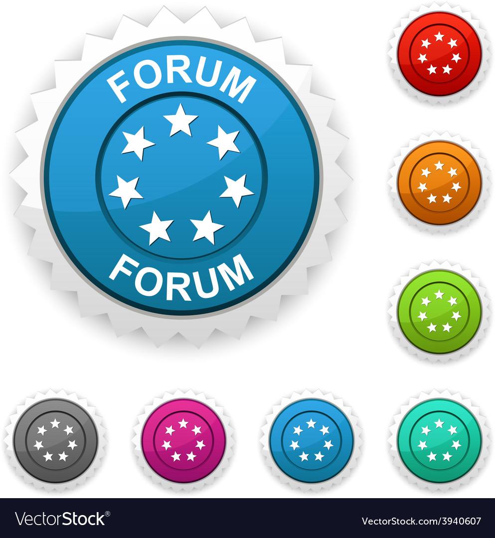 Forum award vector