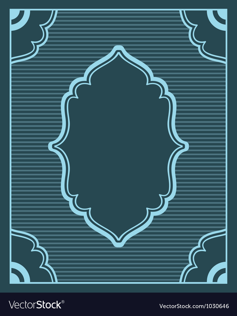Background in retro style with copyspace vector