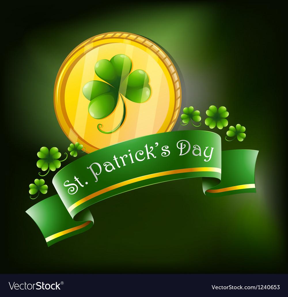 Symbols for st patricks celebration vector