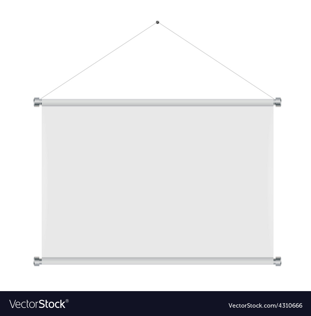 Textile banners with copy space vector