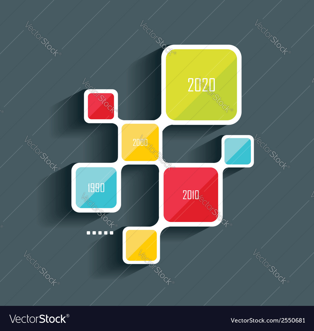 Business pie chart for documents vector