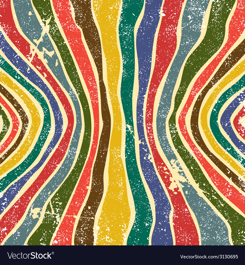 Abstract striped grunge background vector