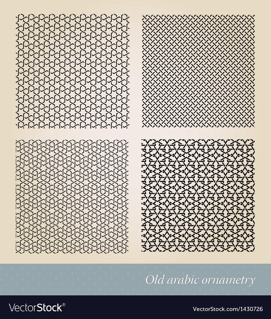 Seamless islamic background vector