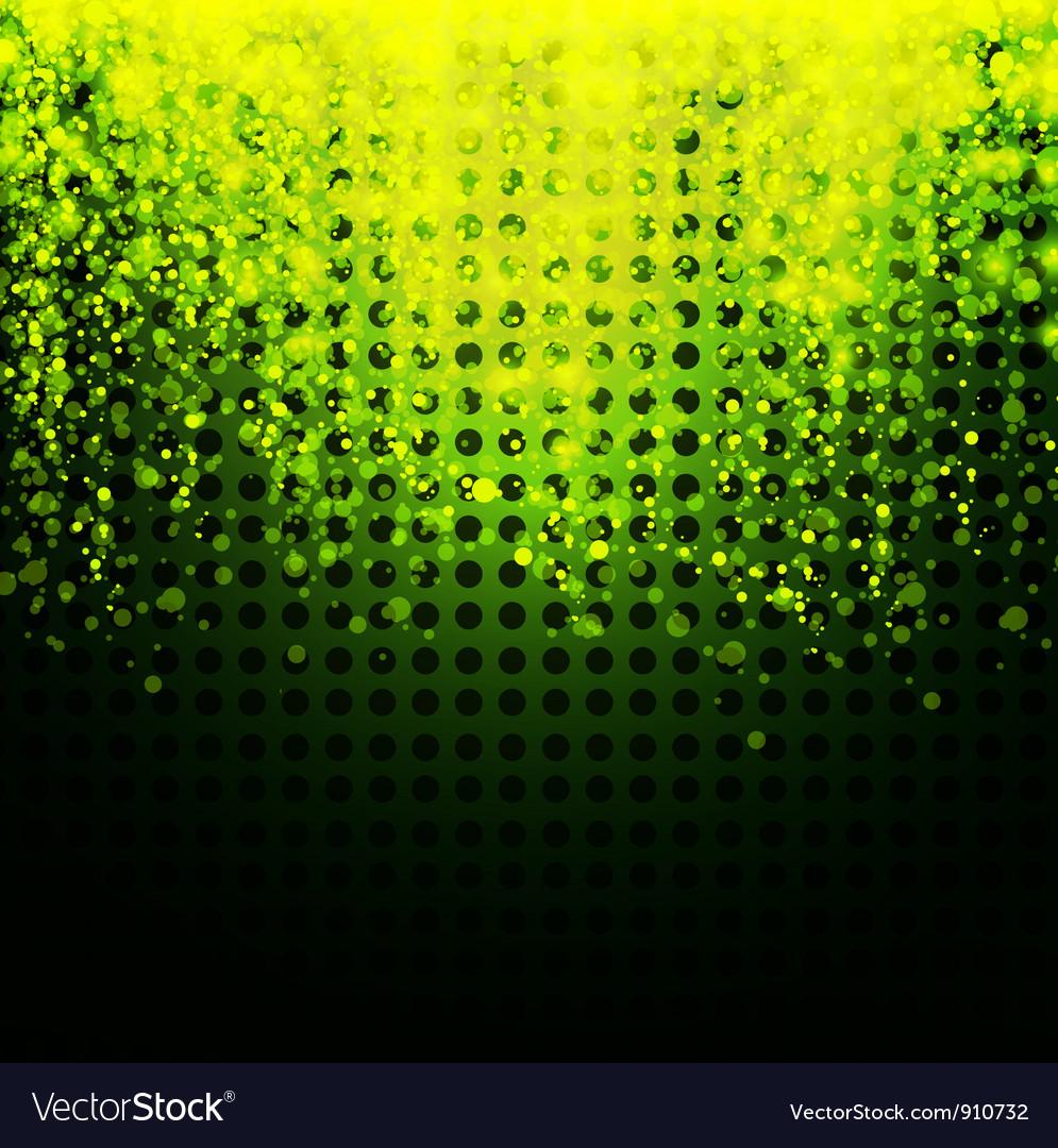 Glowing neon background vector