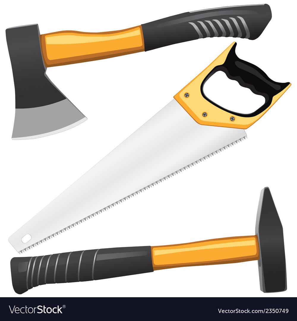 Carpentry tools vector