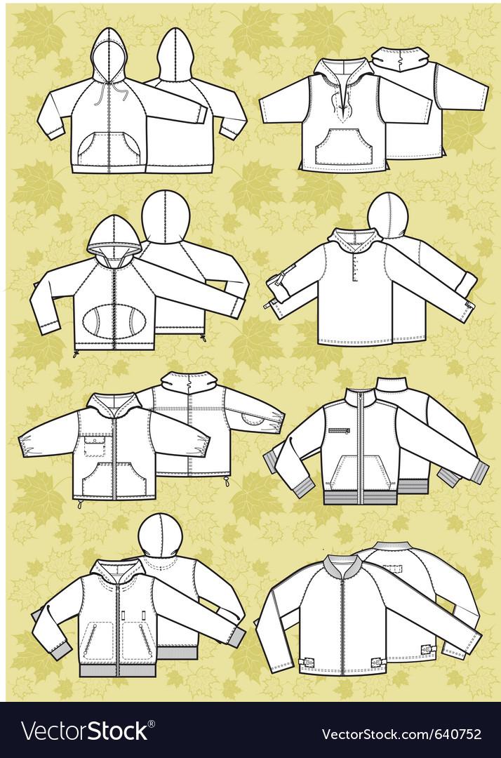 Jacket vector